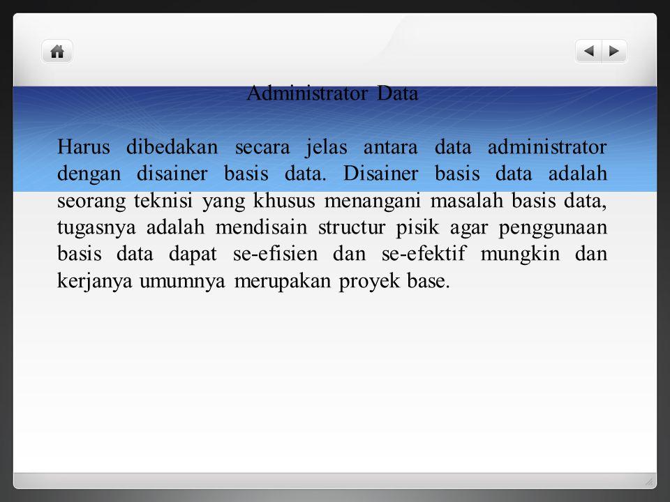 Administrator Data