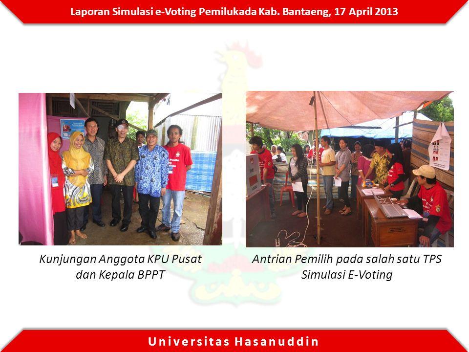 Kunjungan Anggota KPU Pusat dan Kepala BPPT