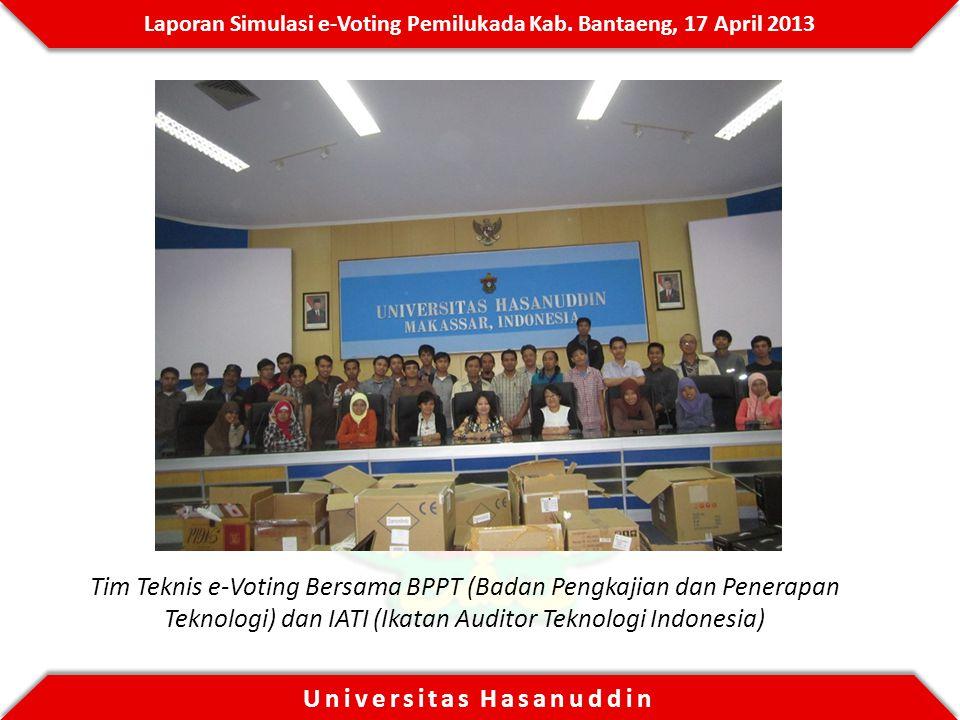 Tim Teknis e-Voting Bersama BPPT (Badan Pengkajian dan Penerapan Teknologi) dan IATI (Ikatan Auditor Teknologi Indonesia)