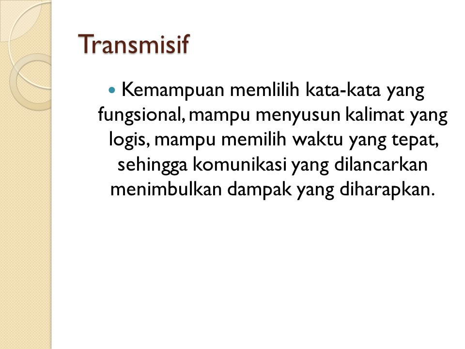 Transmisif