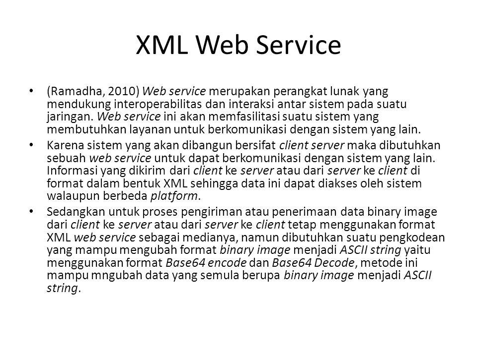 XML Web Service
