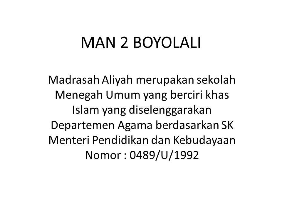 MAN 2 BOYOLALI