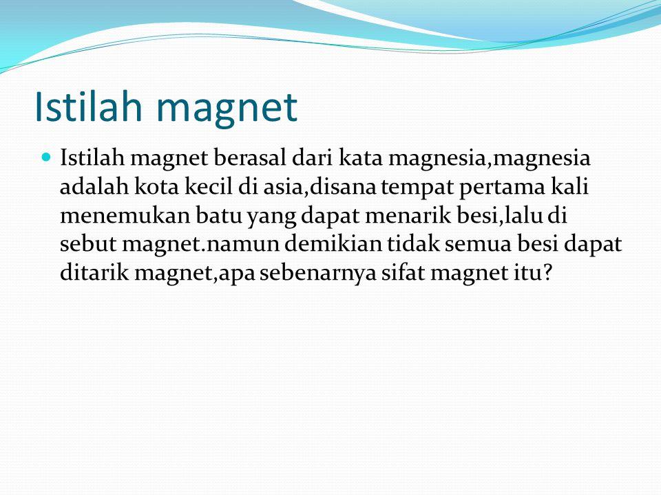 Istilah magnet