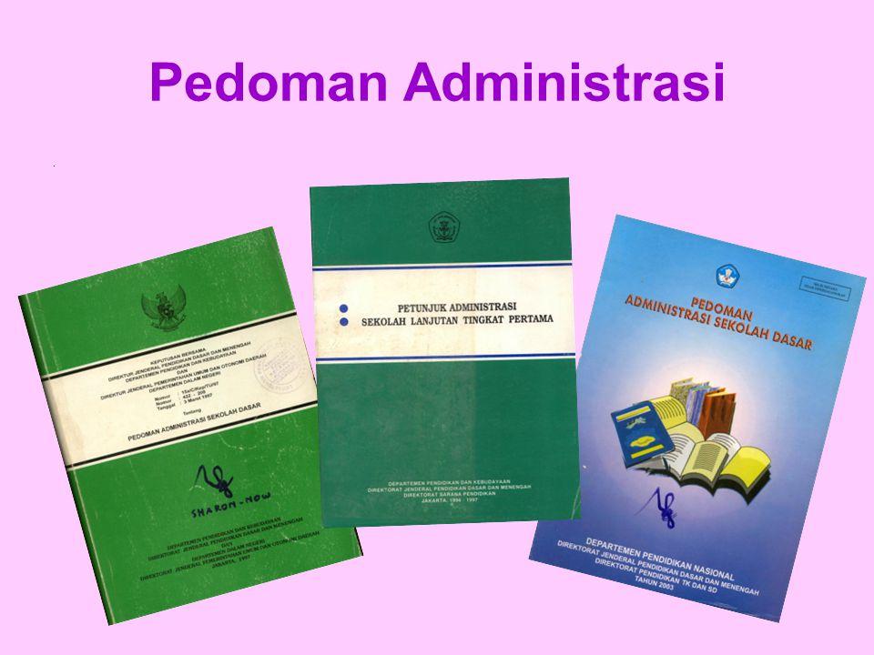 Pedoman Administrasi .