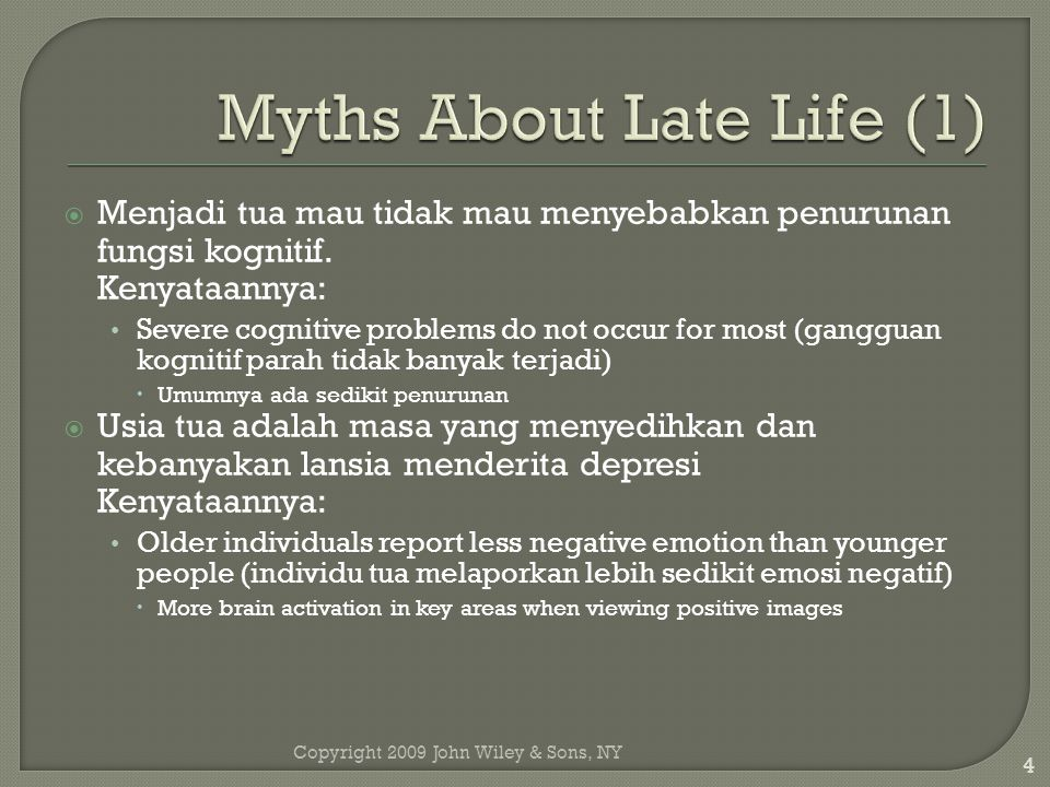 Myths About Late Life (1)
