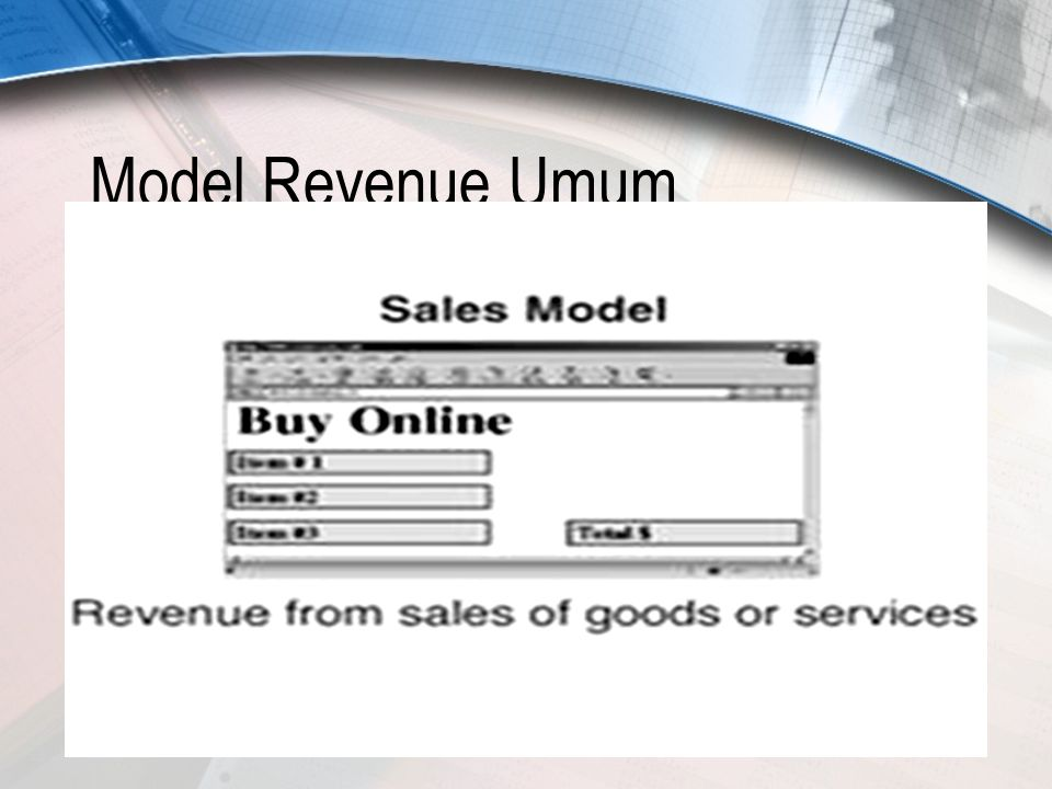 Model Revenue Umum
