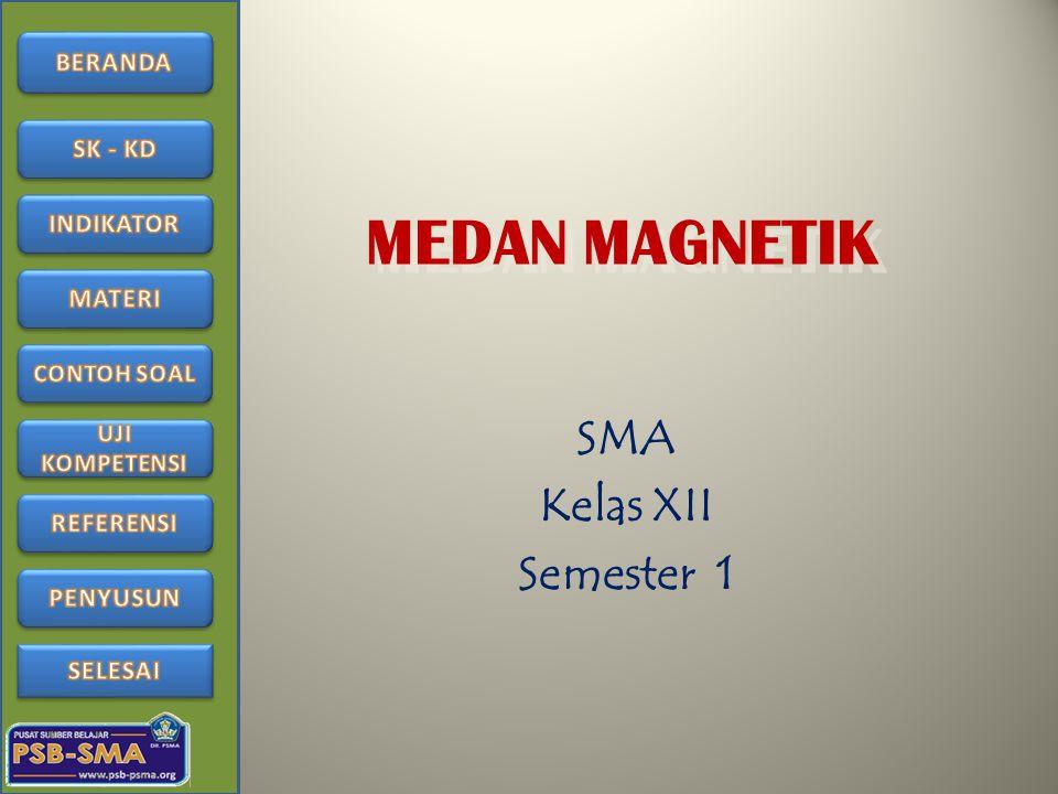 MEDAN MAGNETIK SMA Kelas XII Semester 1