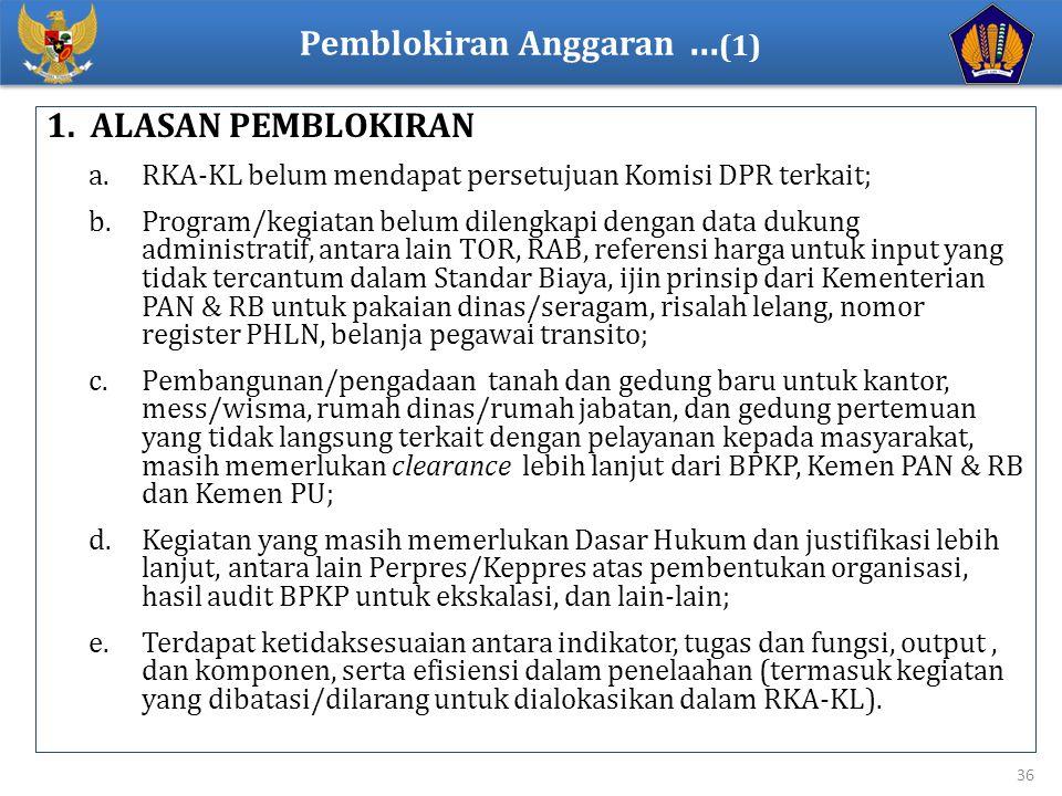 Pemblokiran Anggaran ...(1)