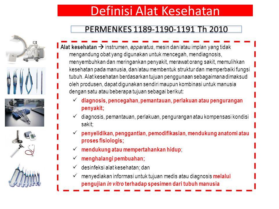 Definisi Alat Kesehatan