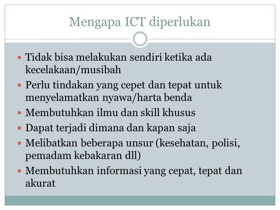 Mengapa ICT diperlukan