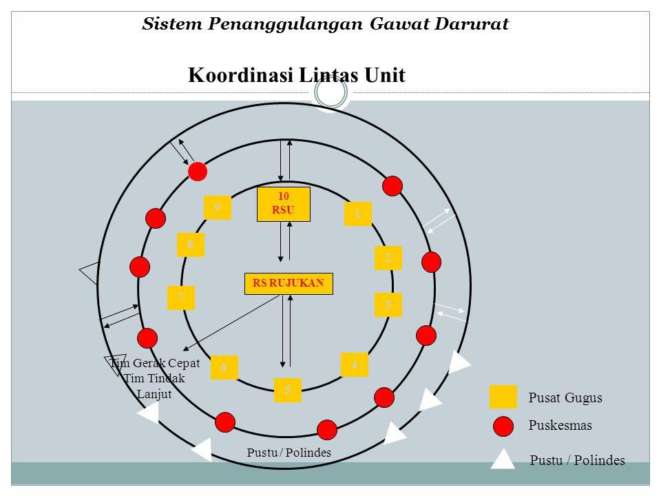 Sistem Penanggulangan Gawat Darurat Koordinasi Lintas Unit
