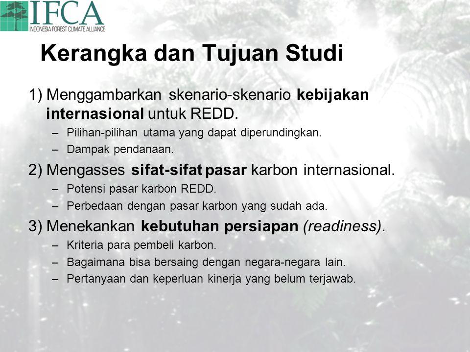 Kerangka dan Tujuan Studi