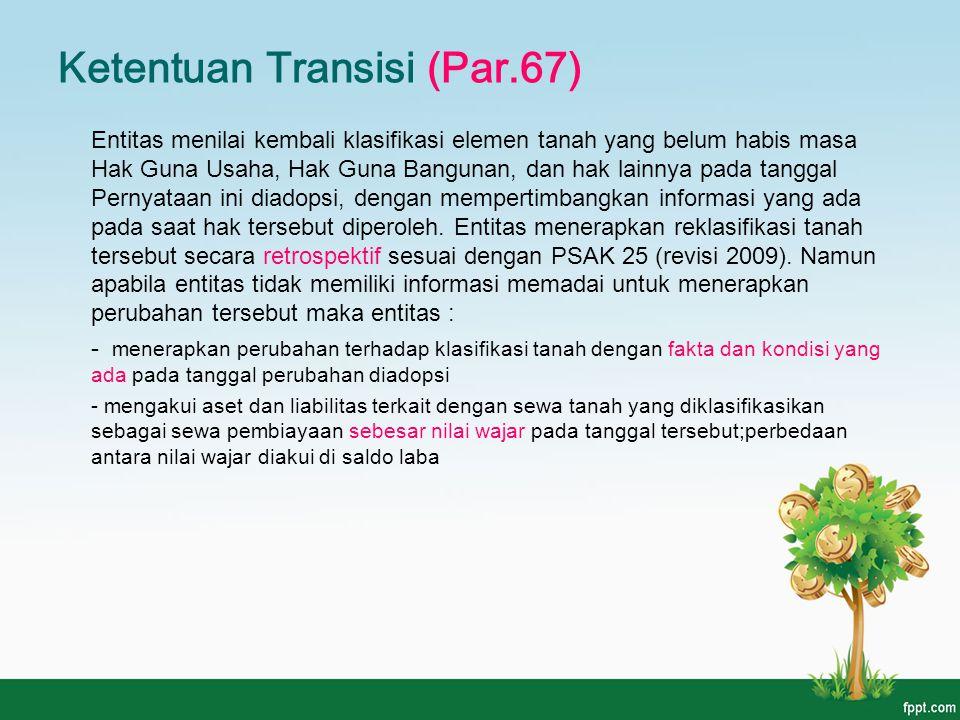 Ketentuan Transisi (Par.67)