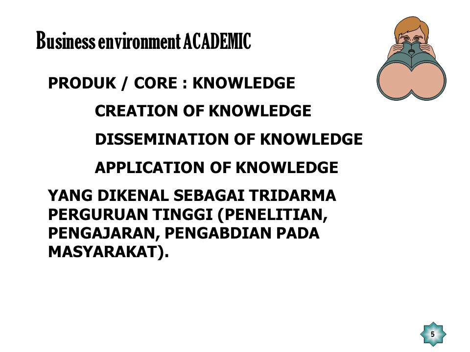 Business environment ACADEMIC