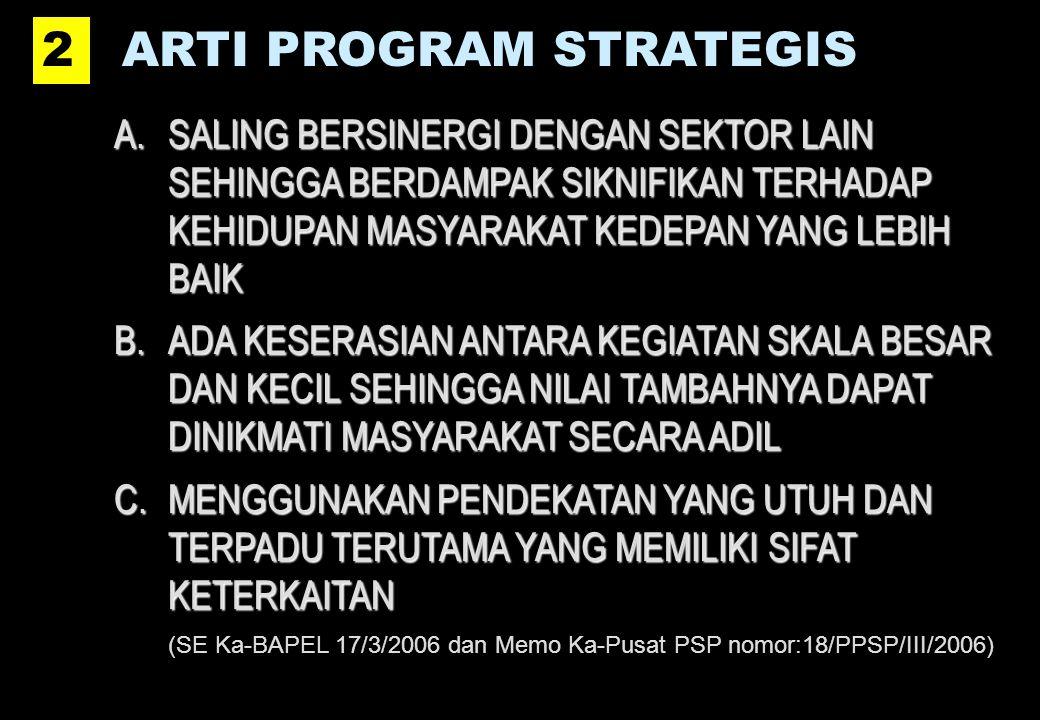 ARTI PROGRAM STRATEGIS