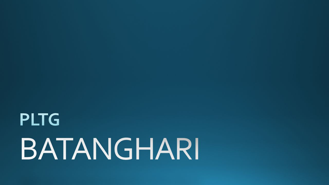 PLTG BATANGHARI