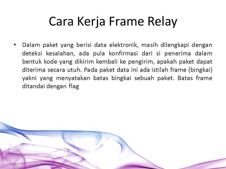 Cara Kerja Frame Relay