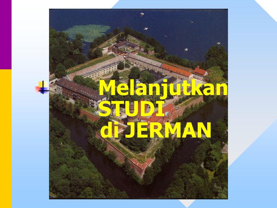 Melanjutkan STUDI di JERMAN