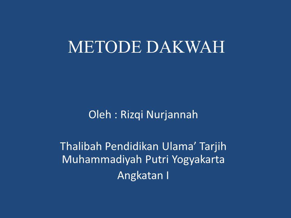 Thalibah Pendidikan Ulama' Tarjih Muhammadiyah Putri Yogyakarta