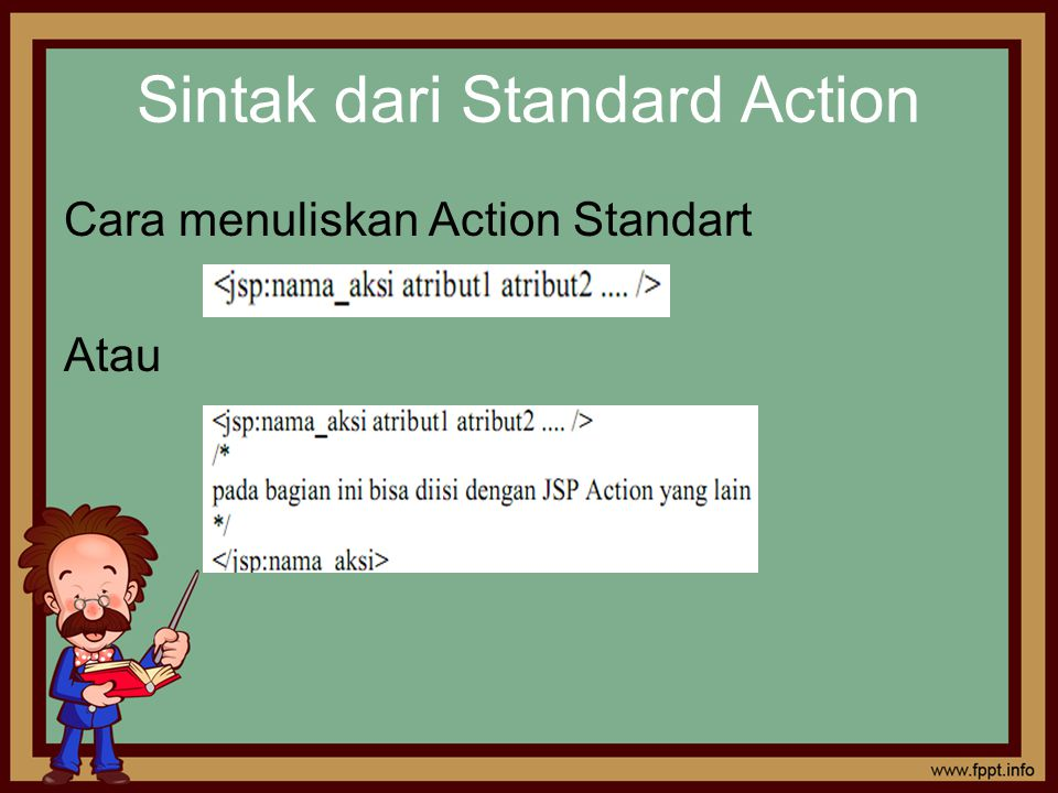 Sintak dari Standard Action
