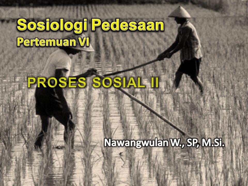 Sosiologi Pedesaan Pertemuan VI