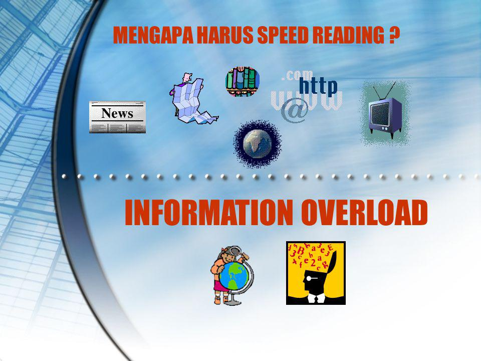 MENGAPA HARUS SPEED READING