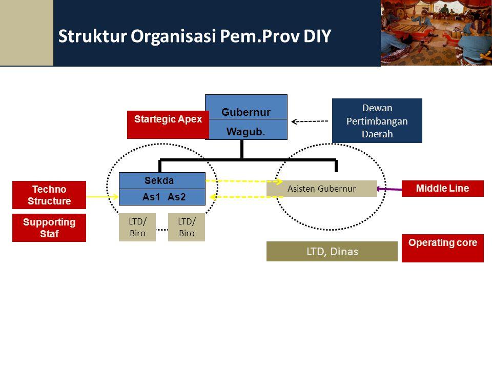 Struktur Organisasi Pem.Prov DIY