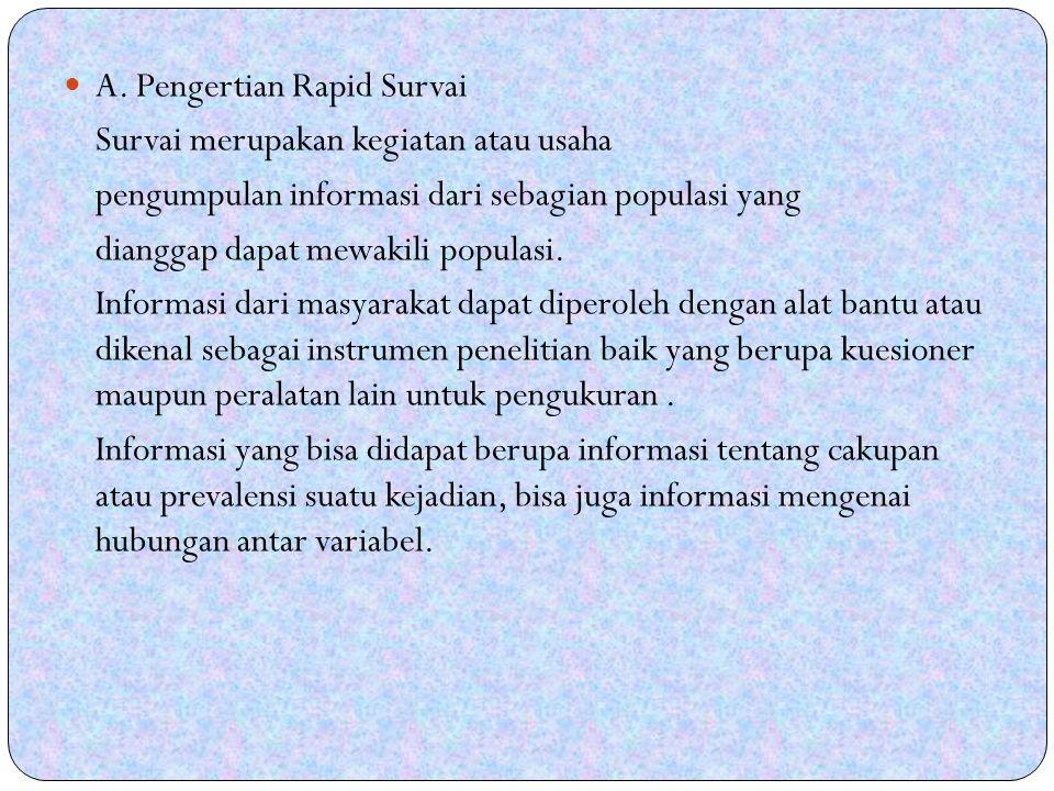 A. Pengertian Rapid Survai
