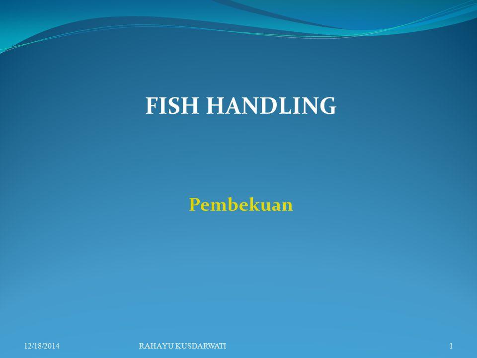 FISH HANDLING Pembekuan