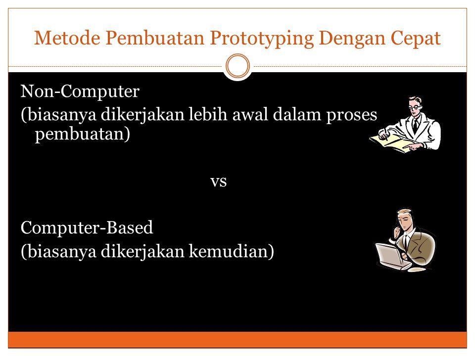 Metode Pembuatan Prototyping Dengan Cepat