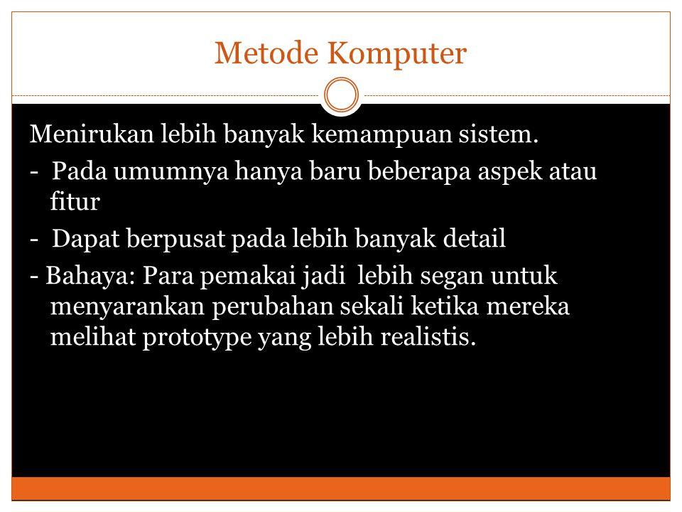 Metode Komputer