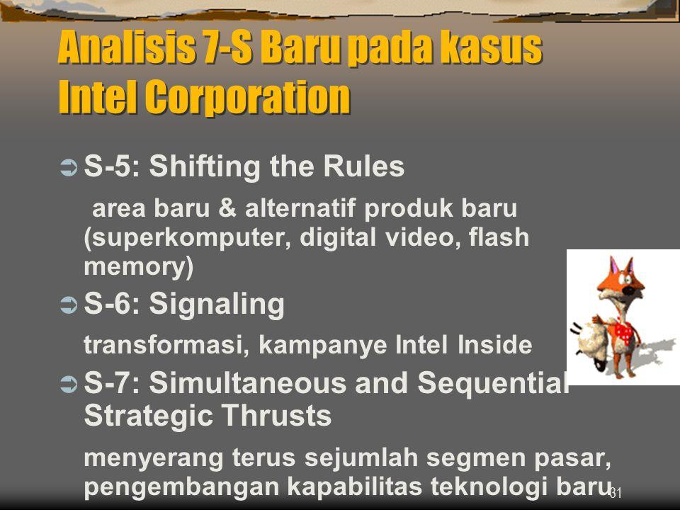 Analisis 7-S Baru pada kasus Intel Corporation