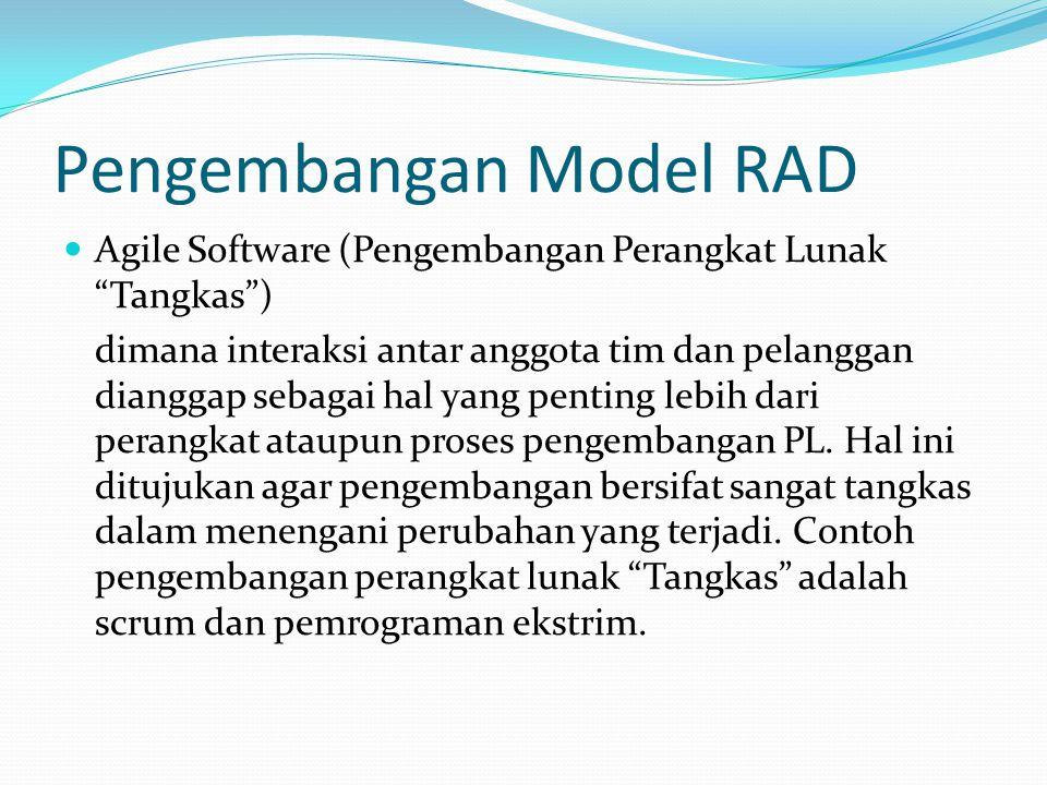 Pengembangan Model RAD