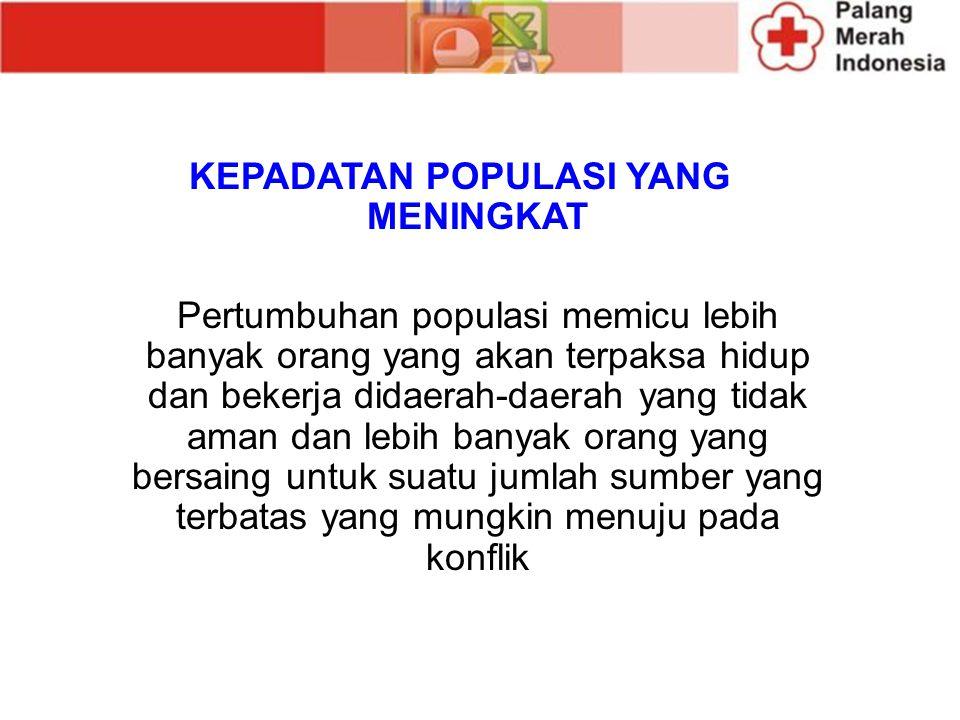 KEPADATAN POPULASI YANG MENINGKAT