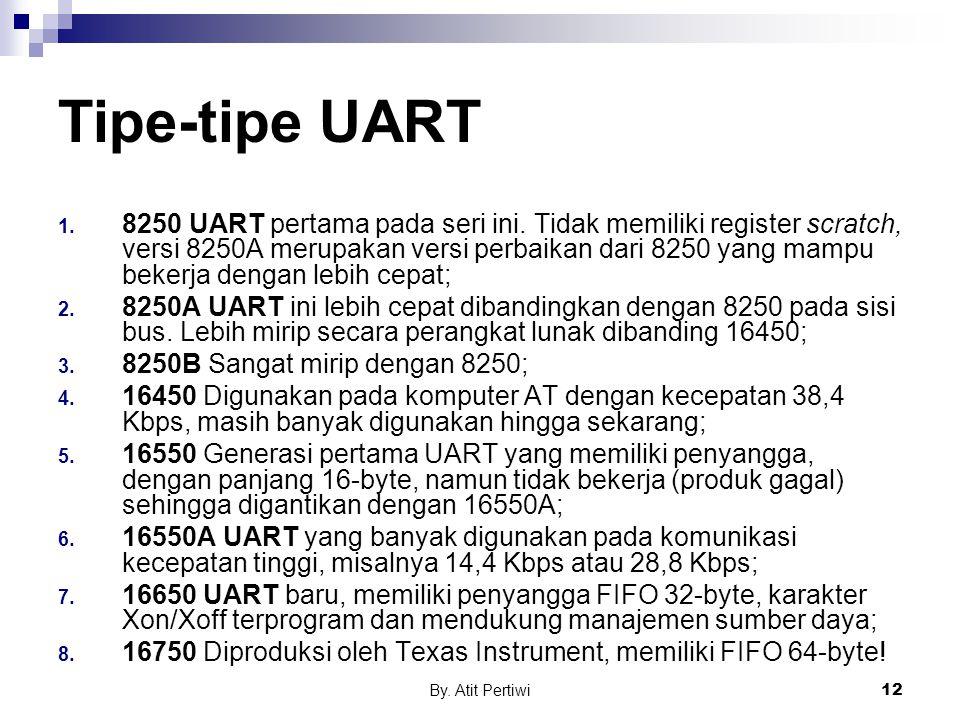 Tipe-tipe UART