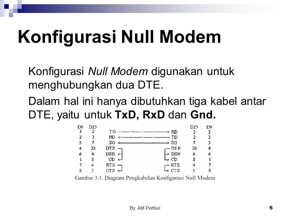 Konfigurasi Null Modem