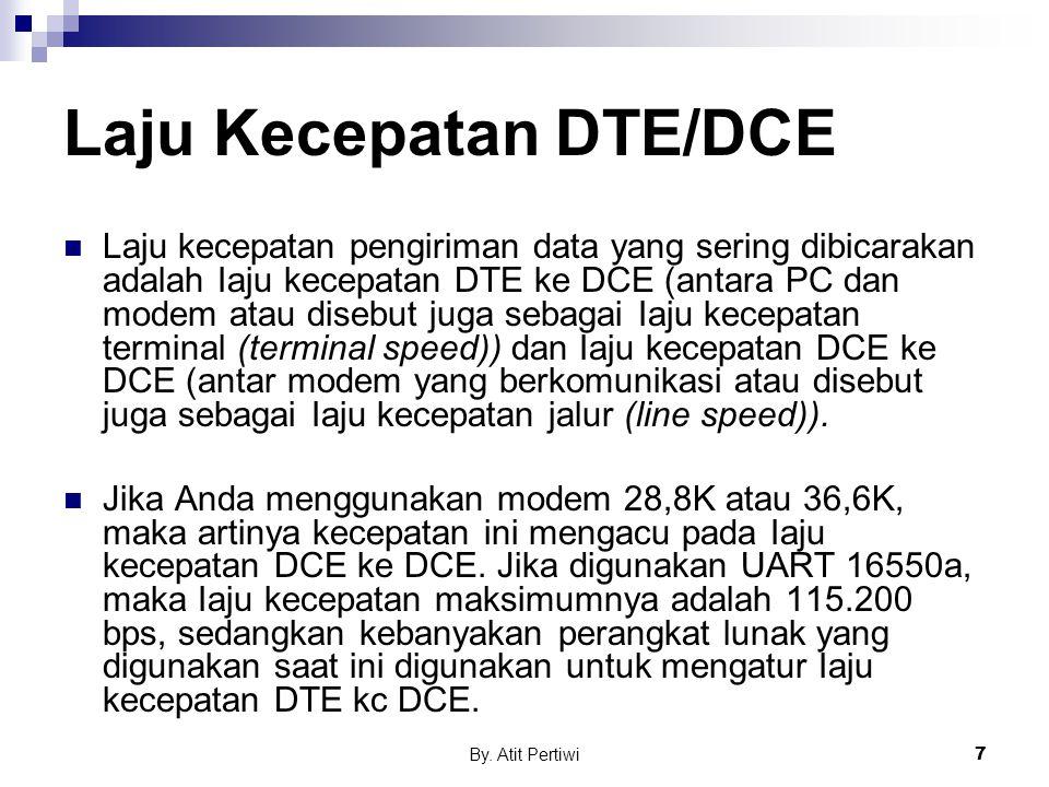 Laju Kecepatan DTE/DCE