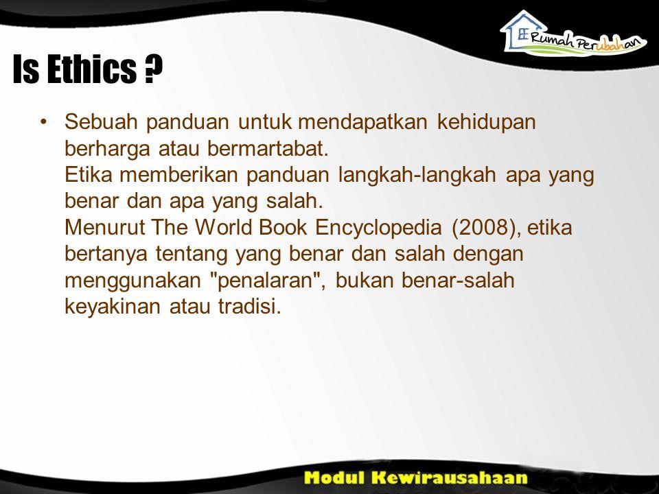 Is Ethics