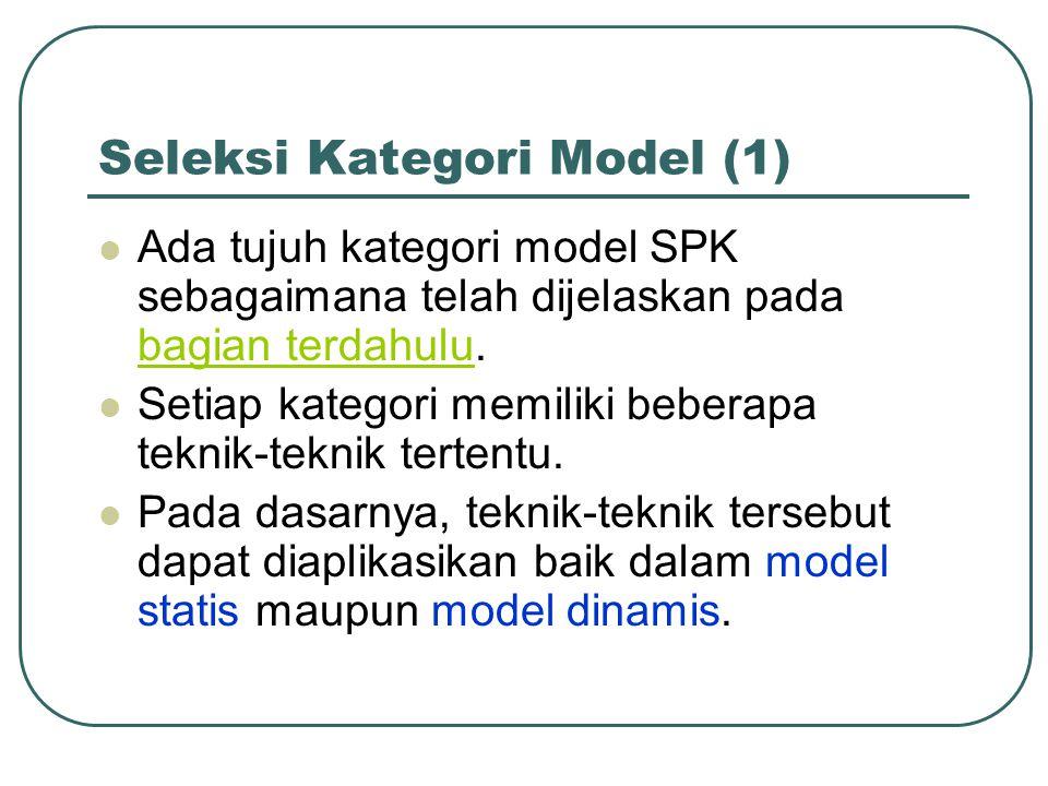 Seleksi Kategori Model (1)