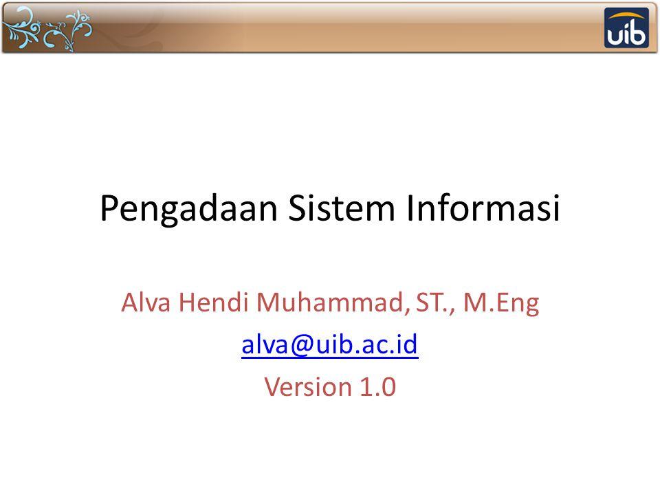 Pengadaan Sistem Informasi