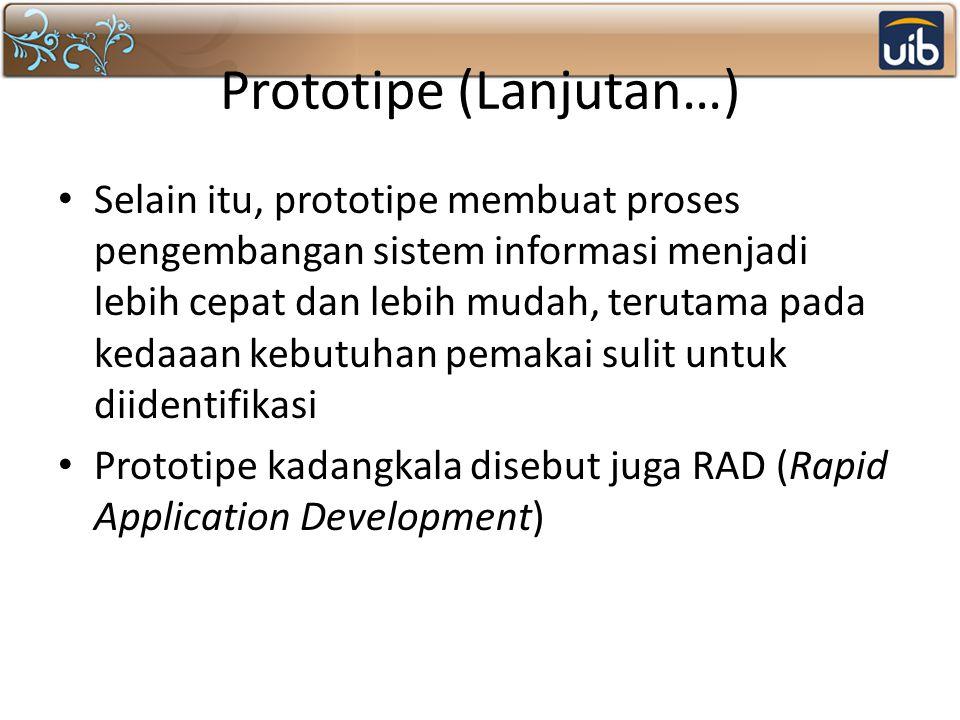 Prototipe (Lanjutan…)