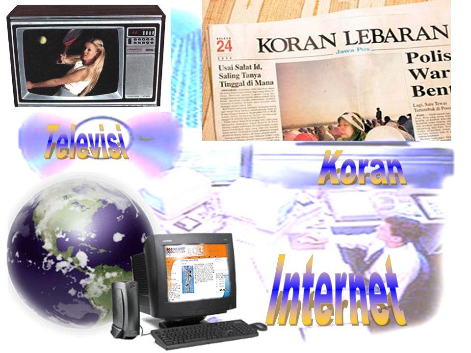 Televisi Koran Internet