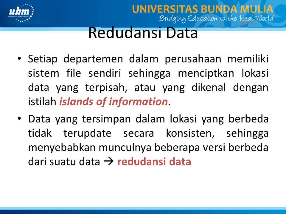 Redudansi Data