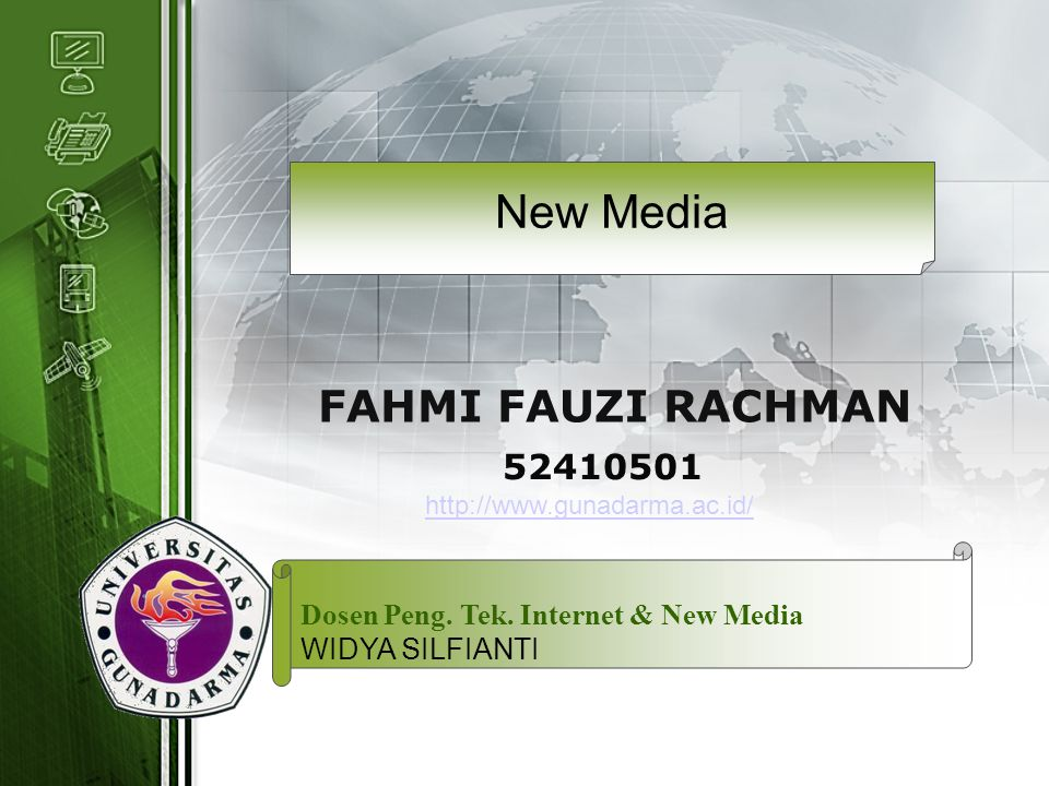 New Media FAHMI FAUZI RACHMAN 52410501
