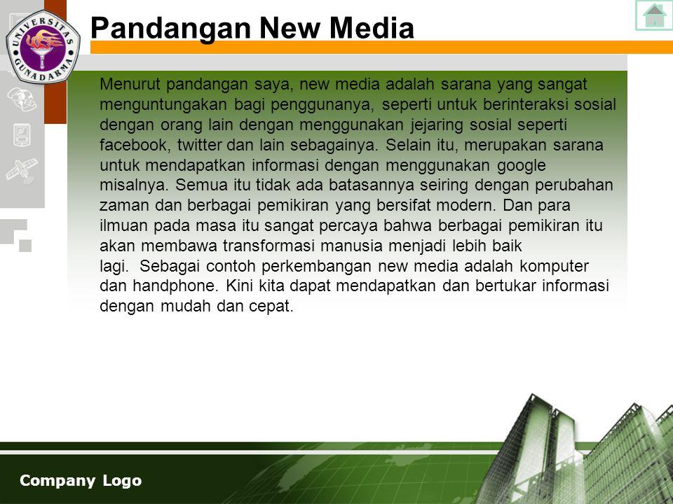 Pandangan New Media