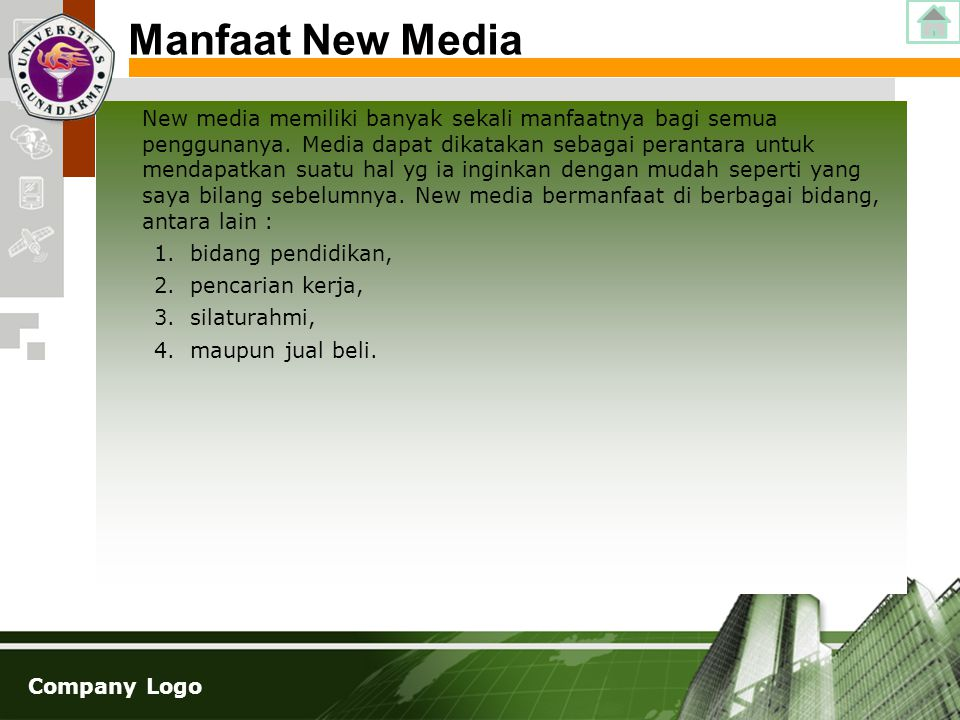 Manfaat New Media
