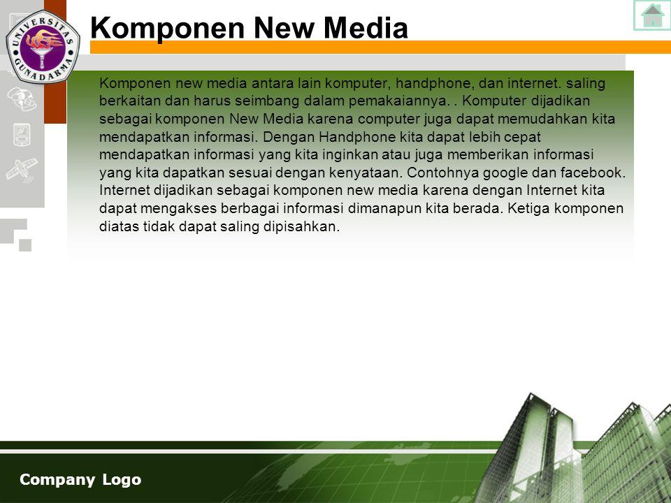 Komponen New Media