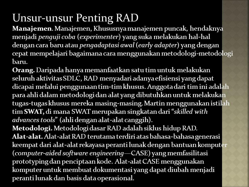 Unsur-unsur Penting RAD