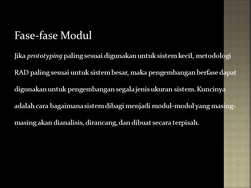 Fase-fase Modul