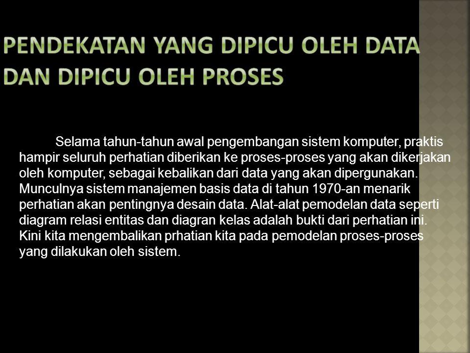 Pendekatan yang Dipicu oleh Data dan Dipicu oleh Proses